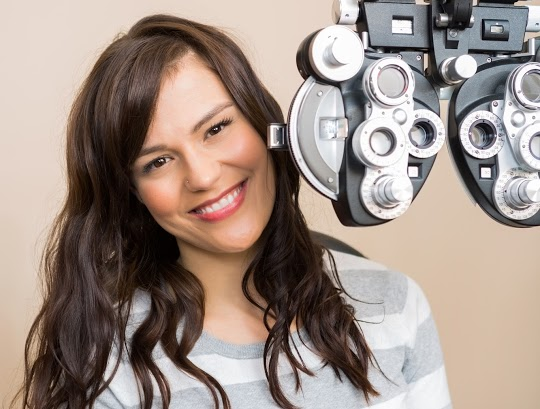 LADIES, THERE ARE SPECIAL REASONS FOR YOU TO HAVE AN EYE EXAM